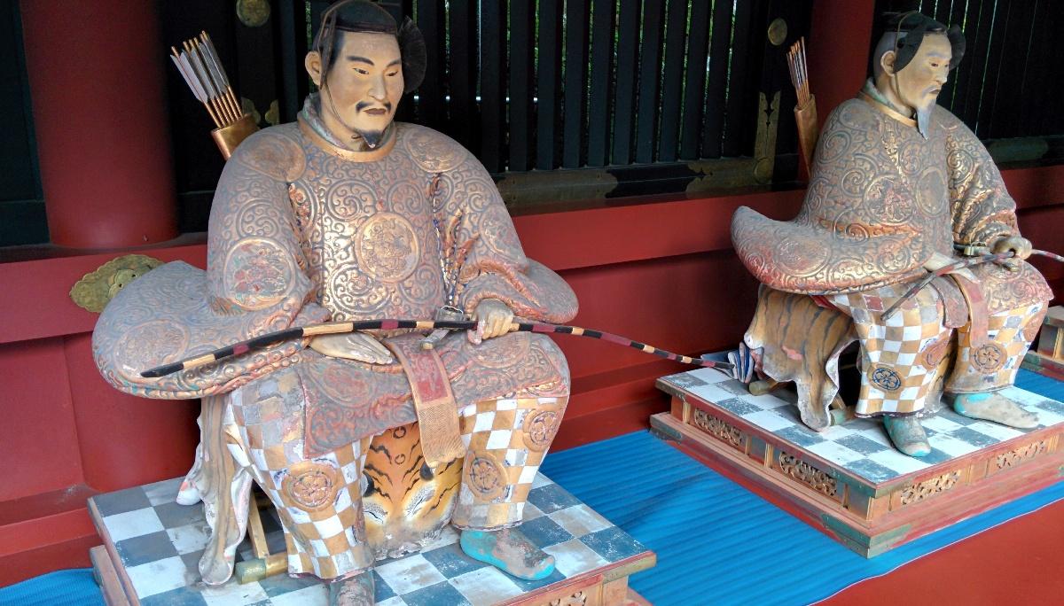 Arcieri guardiano del tempio Toshogu
