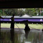 Il dojo per la pratica del Kyudo