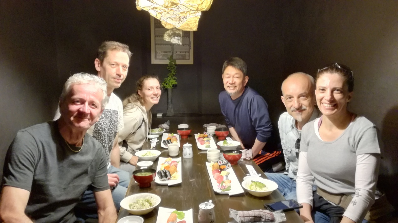 Visita a Tsukuba - aprile 2018